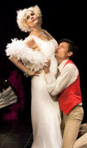 Darlene Violette, Juan Sebastian Cortes in Diamond Lil