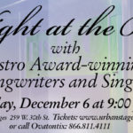 Join Us for A Night at the Bistros December 6!