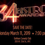 Save the Date for the 34th Annual Bistro Awards!